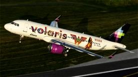 Volaris A320 neo Wonder woman 1984 N530VL(8k) Image Flight Simulator 2020