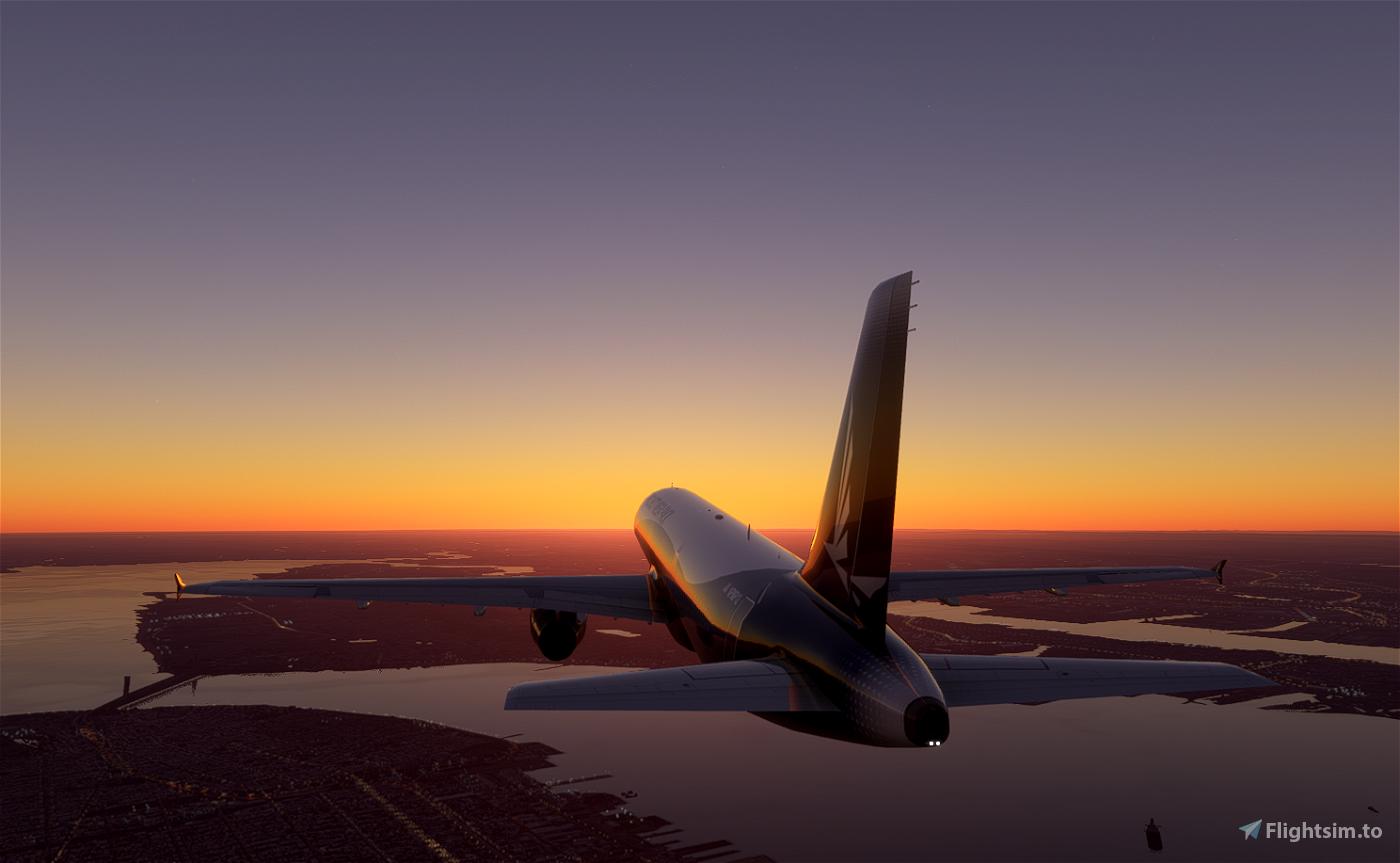 Airbus A321-200 Flight Simulator 2020