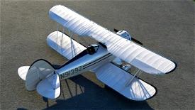 Waco YMF-5 Bright White livery  Image Flight Simulator 2020