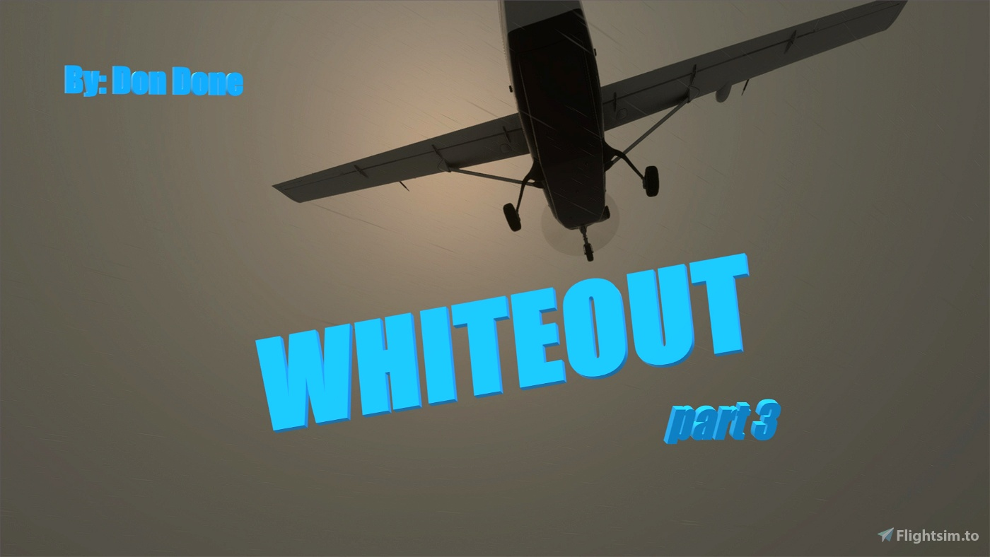 Whiteout Story Mission (part 3/5) Flight Simulator 2020