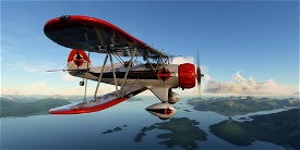 Waco YMF-5 NC357 Alaska Coastal Ellis Airways Image Flight Simulator 2020