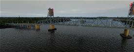 Burlington Bristol Bridge 12 NE of Philadelphia Image Flight Simulator 2020