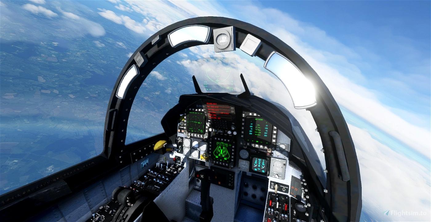 F-15C/D/E/I Better Cameras Flight Simulator 2020