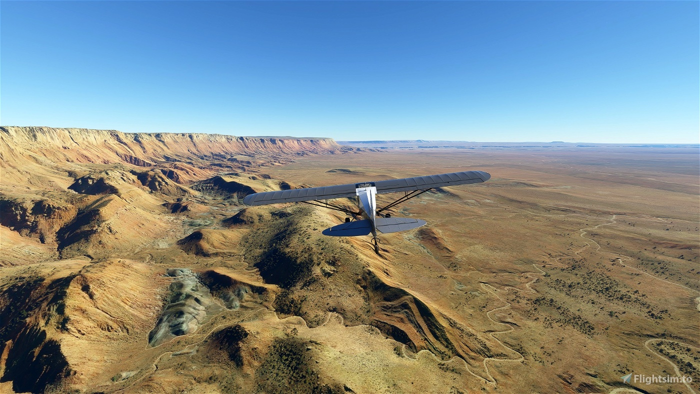 Southwest U.S. Bush Trip Flight Simulator 2020