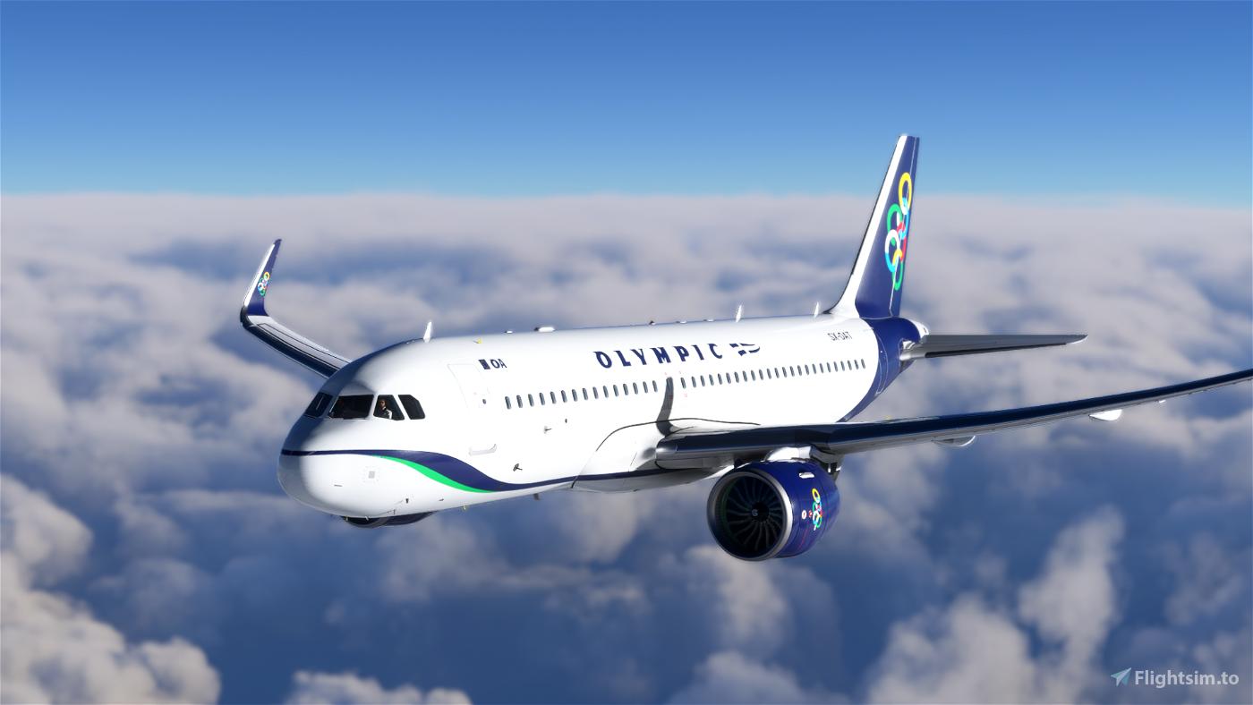 [8K] Olympic Airways (SX-OAT) Flight Simulator 2020
