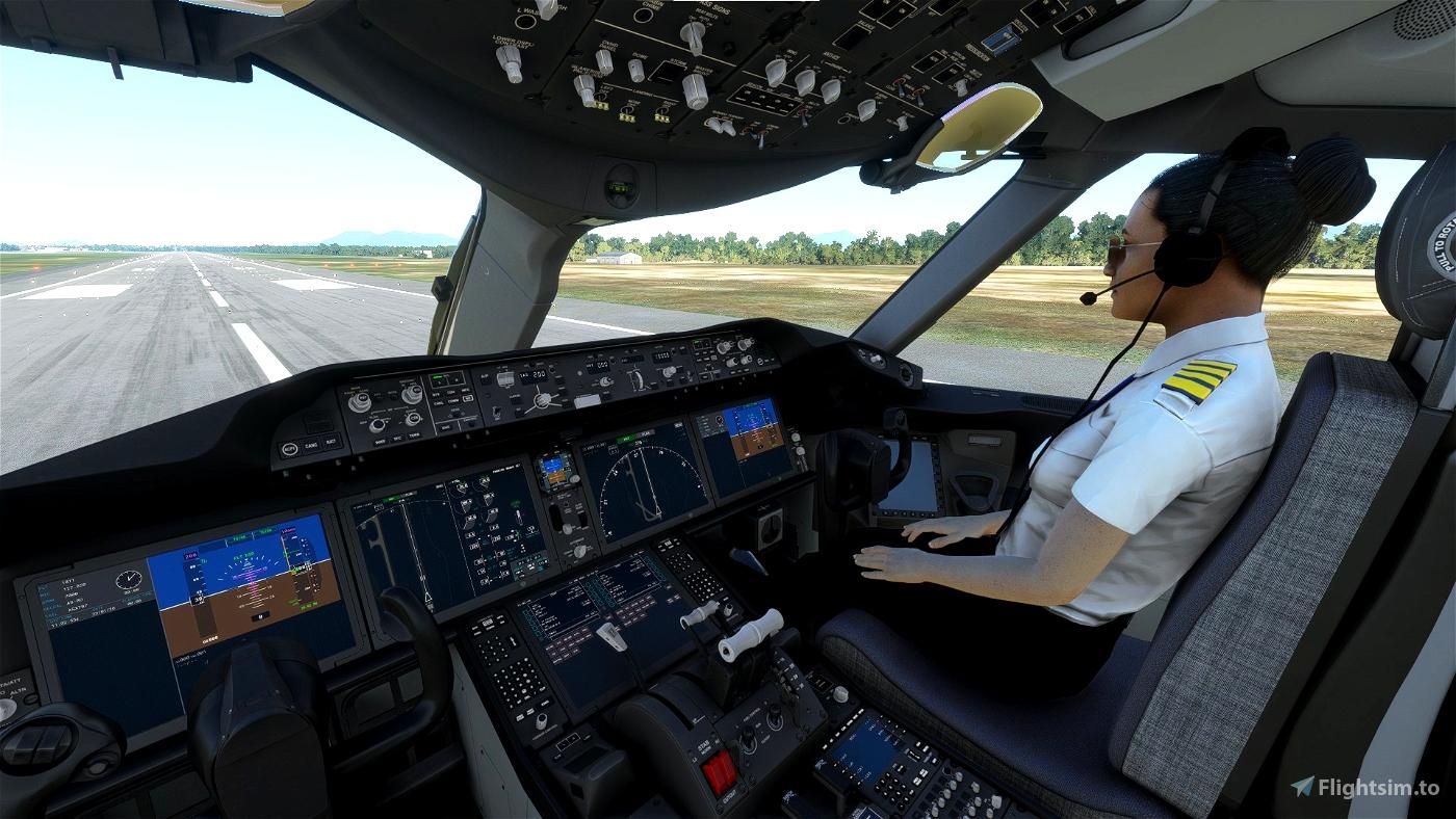 Add Co-pilot to your cockpit (Premium Deluxe Edition) Flight Simulator 2020