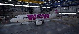 WOW air TF-WOW Image Flight Simulator 2020