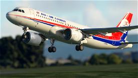 A320 Dan-Air Image Flight Simulator 2020