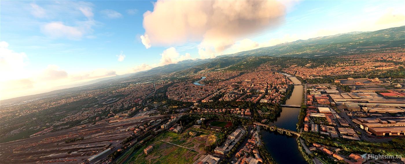 Verona,Italy • Flight Simulator 2020