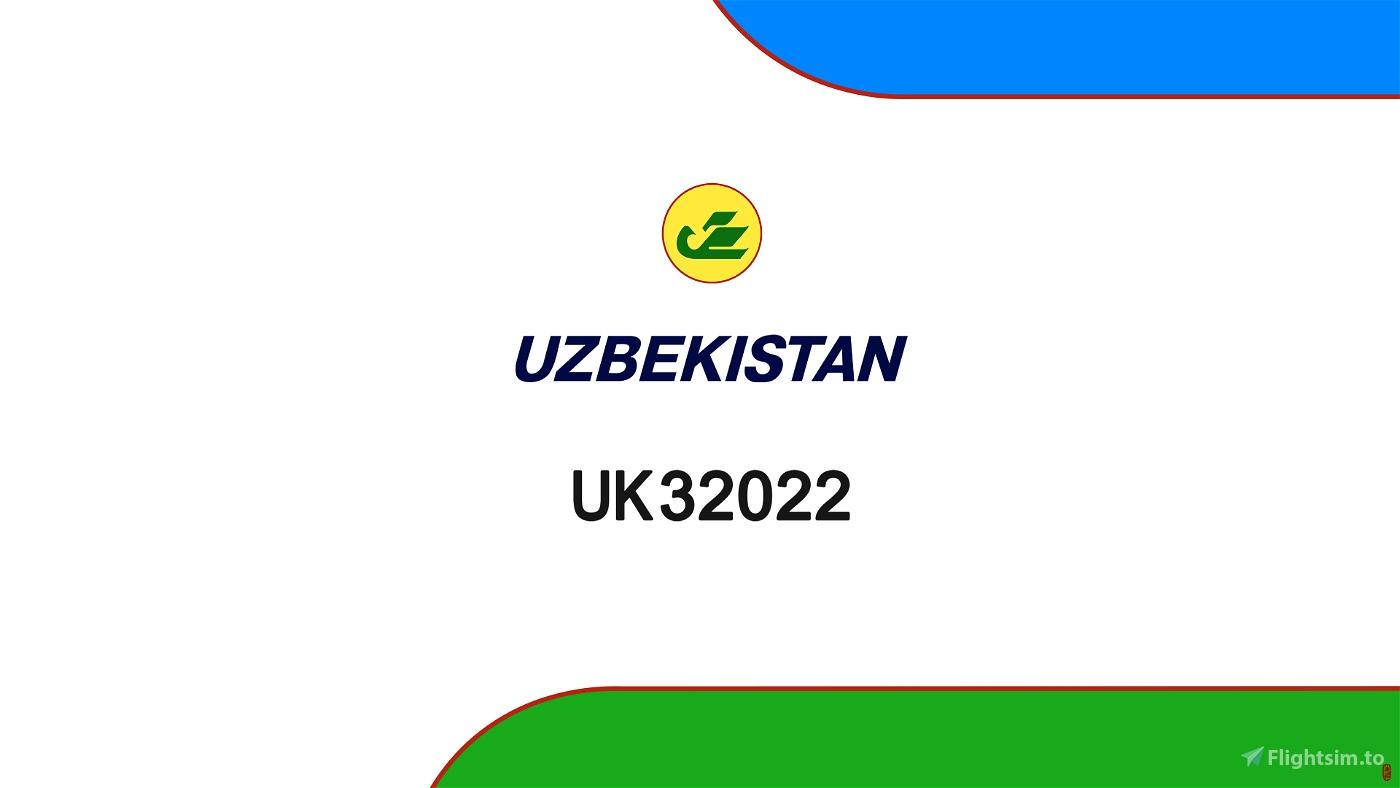 Uzbekistan Airways UK32022 Flight Simulator 2020