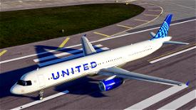 United Airlines [4K] Image Flight Simulator 2020