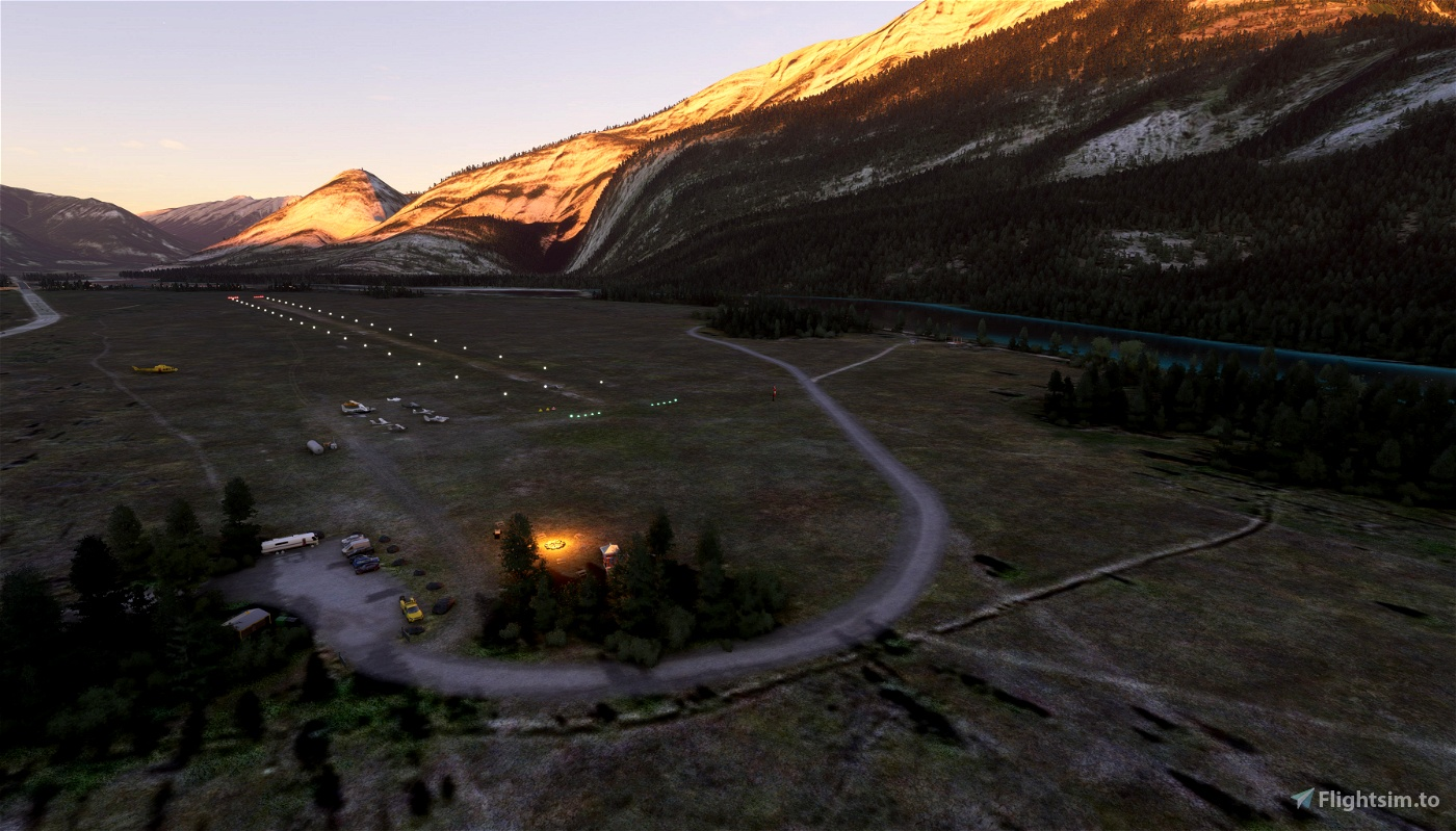 CYJA Jasper, Alberta, Canada Flight Simulator 2020