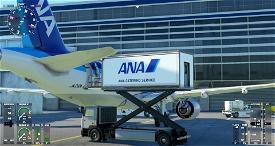ANA Ground Catering Track [JAPAN-ANA repaint] Image Flight Simulator 2020