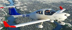 DA40 Patria Pilot Training Image Flight Simulator 2020