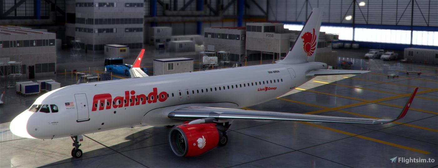 Lion Air Malaysia A320 Neo Flight Simulator 2020