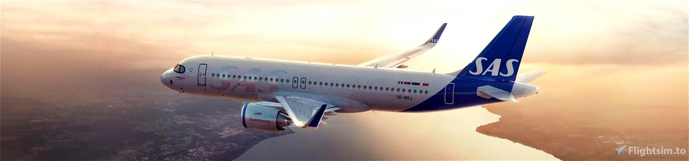 SAS/Scandinavian Airlines Safety Announcement A320neo Flight Simulator 2020