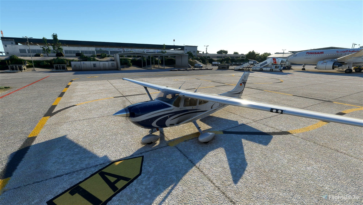 Carenado Cessna 182 Skylane D-ECET Flight Simulator 2020