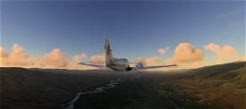 Buffalo Airways C-FULX Beechcraft Baron G58 Microsoft Flight Simulator