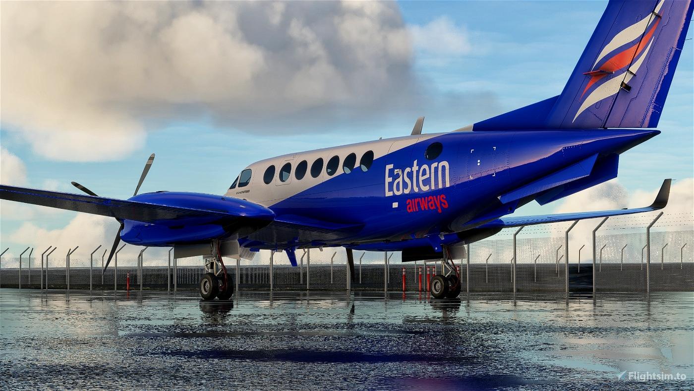 Beechcraft KingAir 350 Eastern Airways