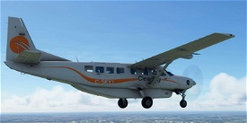 OFFICIAL ClearSky Logistics Livery for Asobo C208B Microsoft Flight Simulator