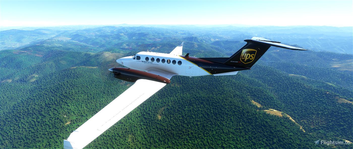 Kingair 350i UPS edition