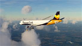 Thomas Cook (Monarch) A321 Image Flight Simulator 2020