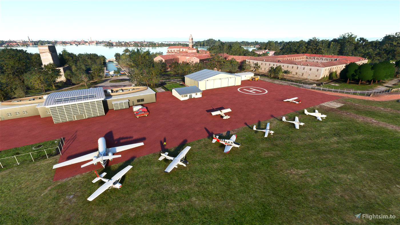 Venice-Lido Airport (San Nicolo) - LIPV Microsoft Flight Simulator