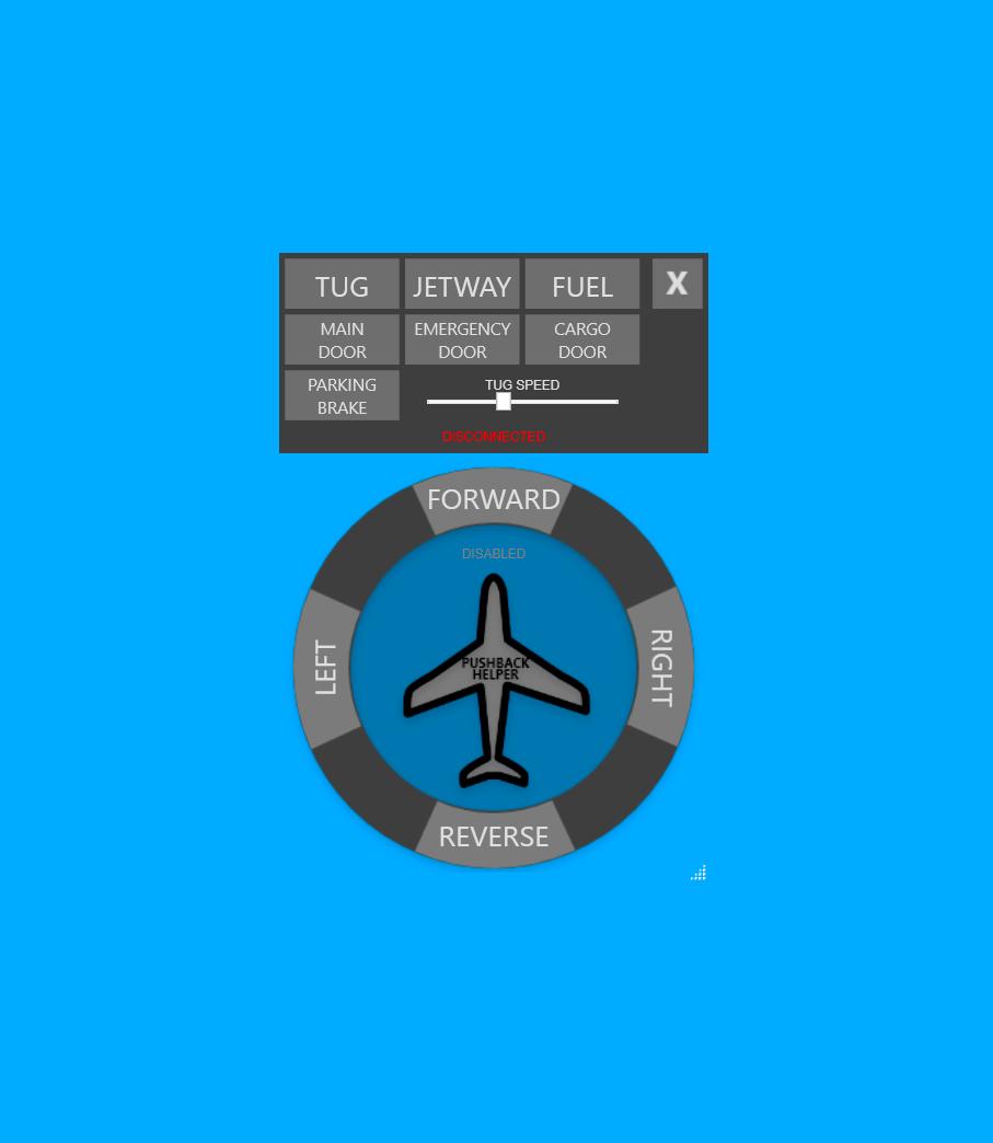 Pushback Helper Flight Simulator 2020