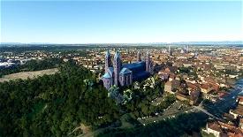 Speyer Cathedral Image Flight Simulator 2020