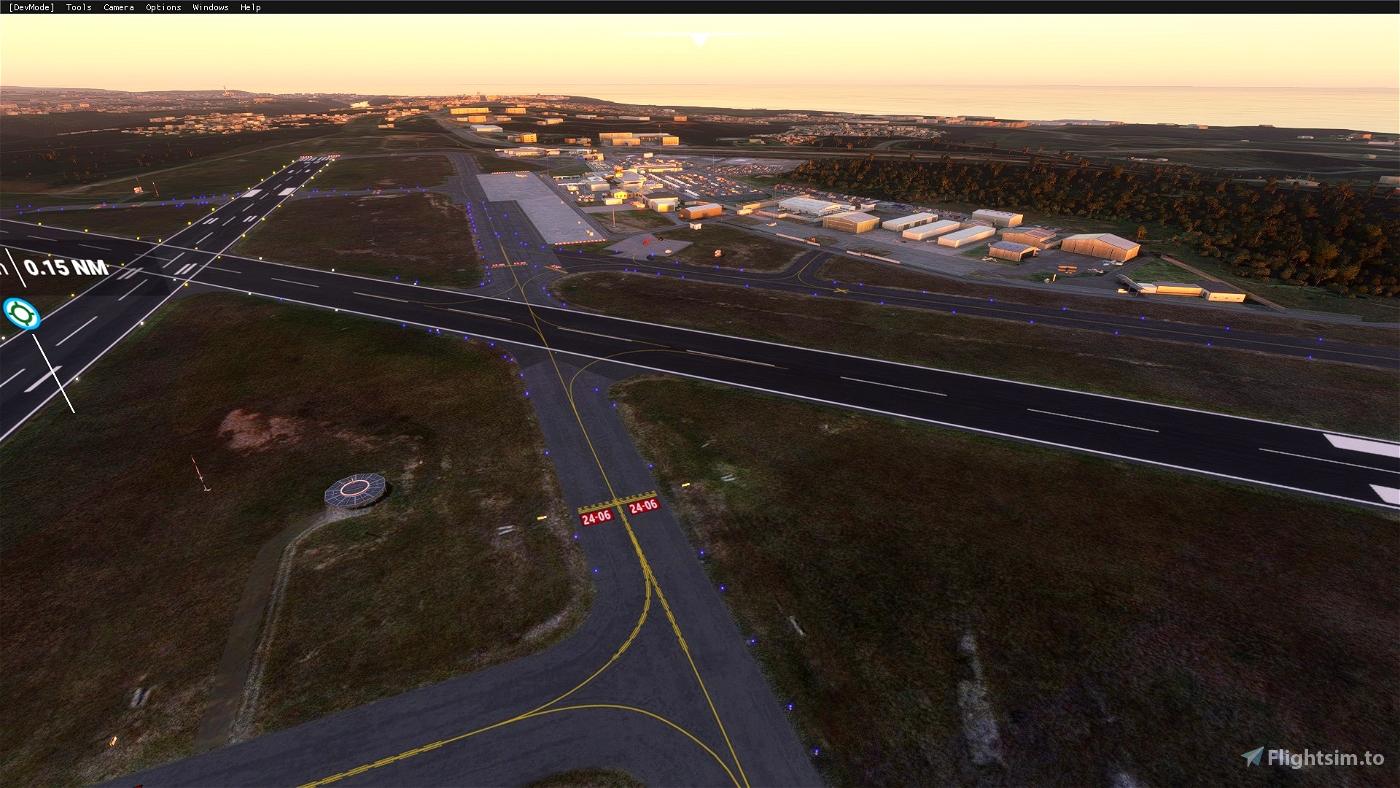 East London Airport(FAEL) Flight Simulator 2020