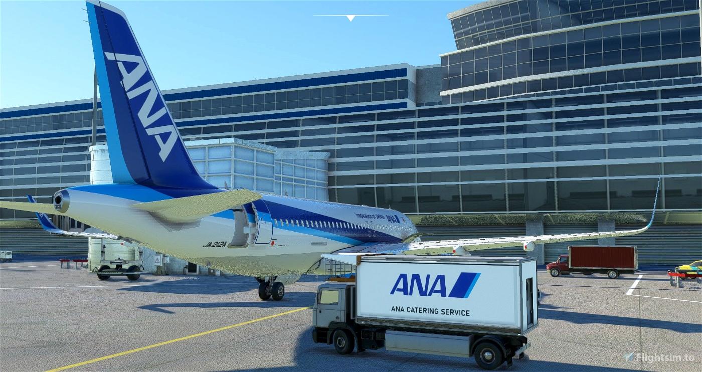ANA Ground Catering Track [JAPAN-ANA repaint]