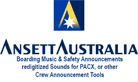 Ansett Australia Safety  and Boarding Music Image Flight Simulator 2020