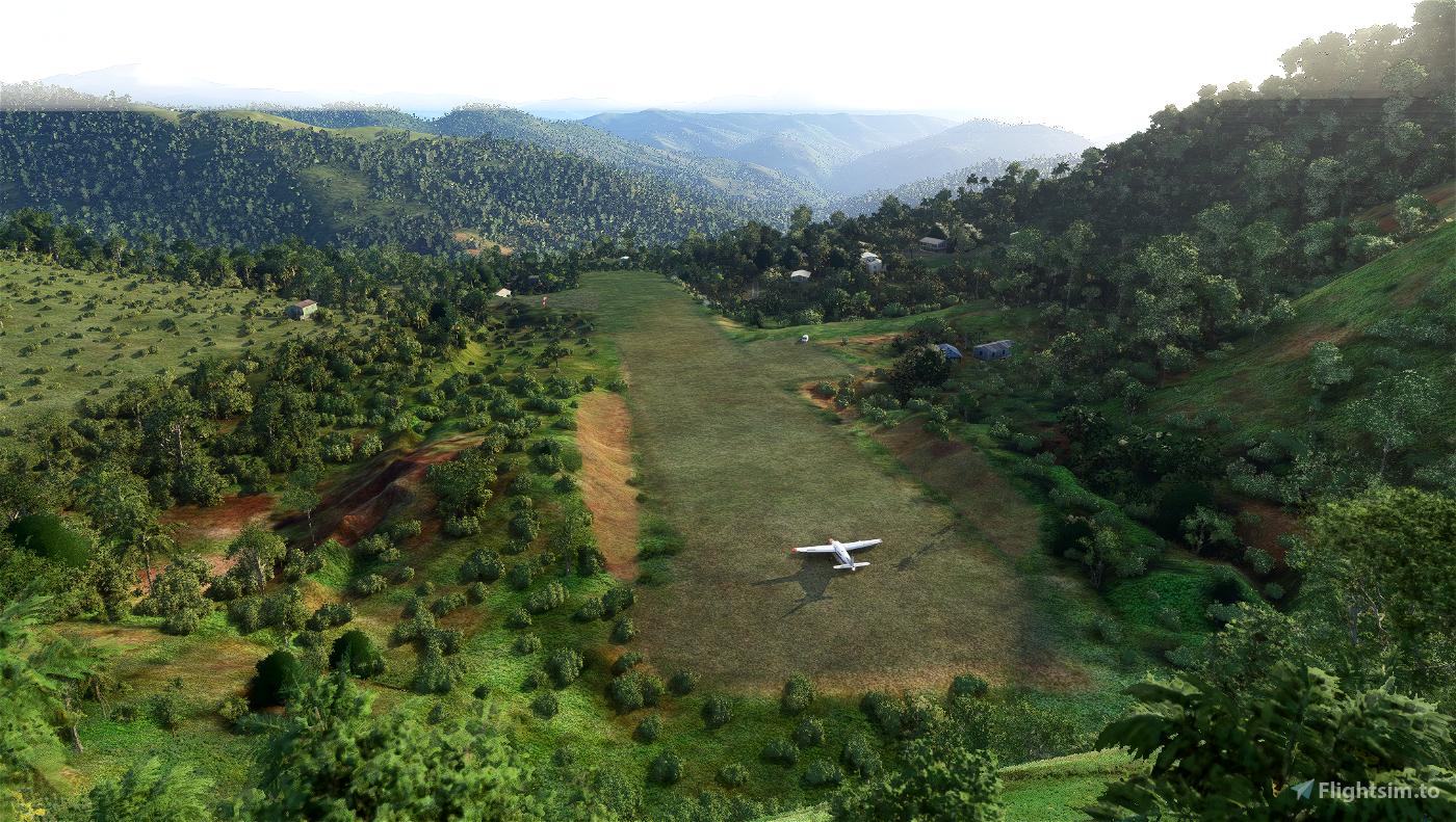 AIBA Aibai Airstrip -PNG