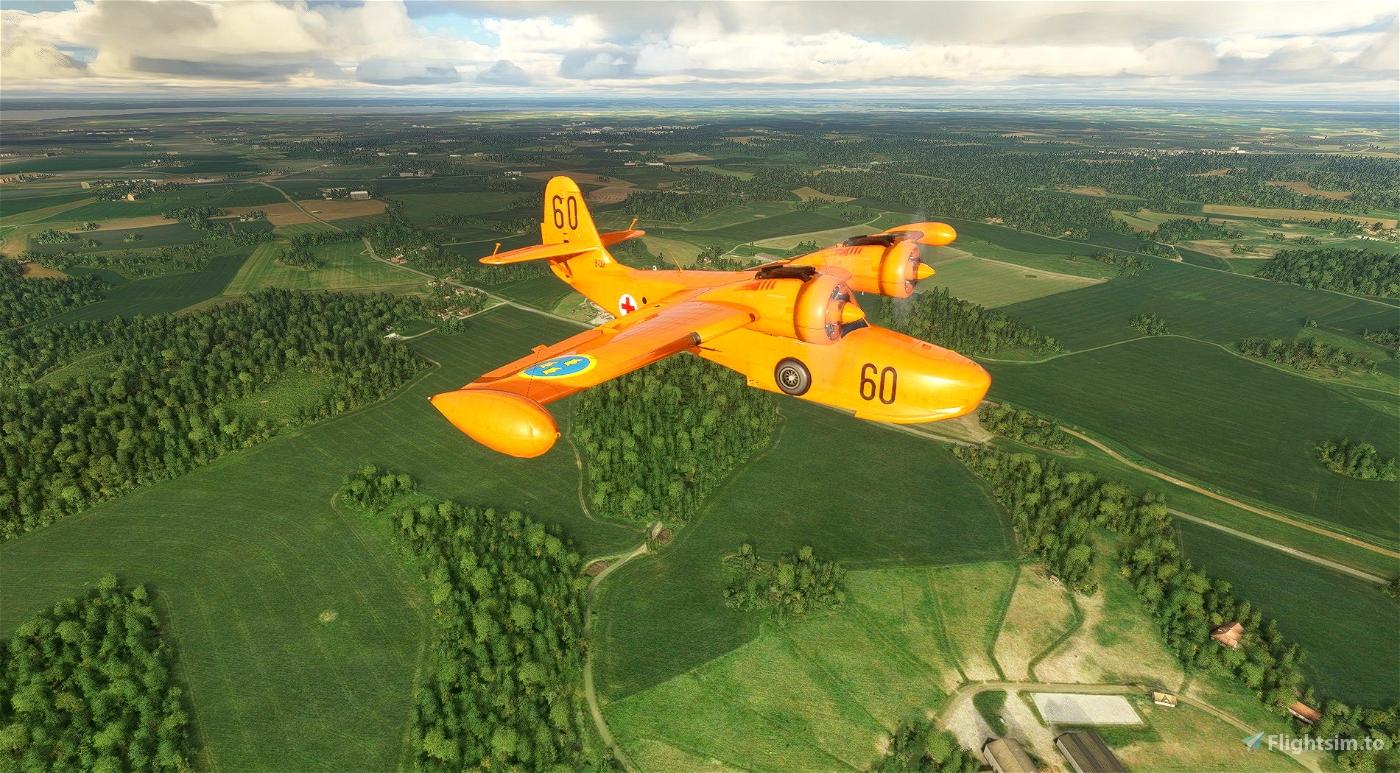 Grumman Goose Swedish Air Force