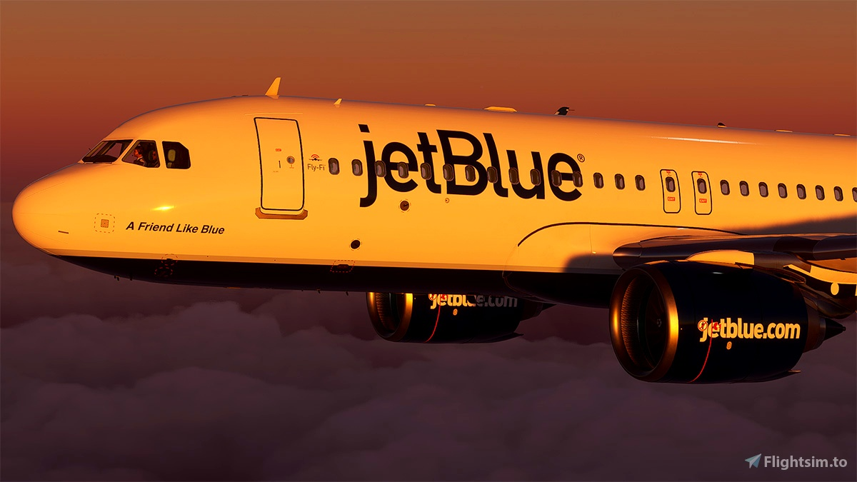 Jetblue A320neo blueberries tail N627JB(8k)