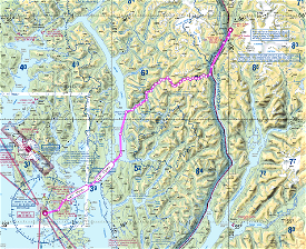 Discover the Tongass Fjords : Flight 1 : Annette Island to Stewart Image Flight Simulator 2020