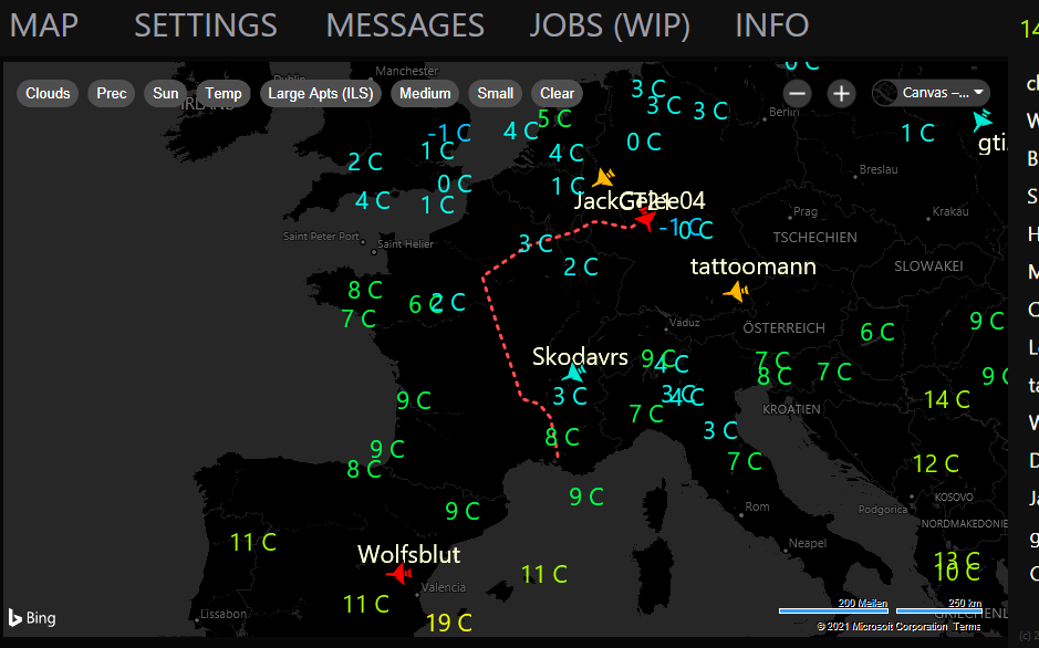 Kleiner Automat (Multiplayer MAP) Flight Simulator 2020