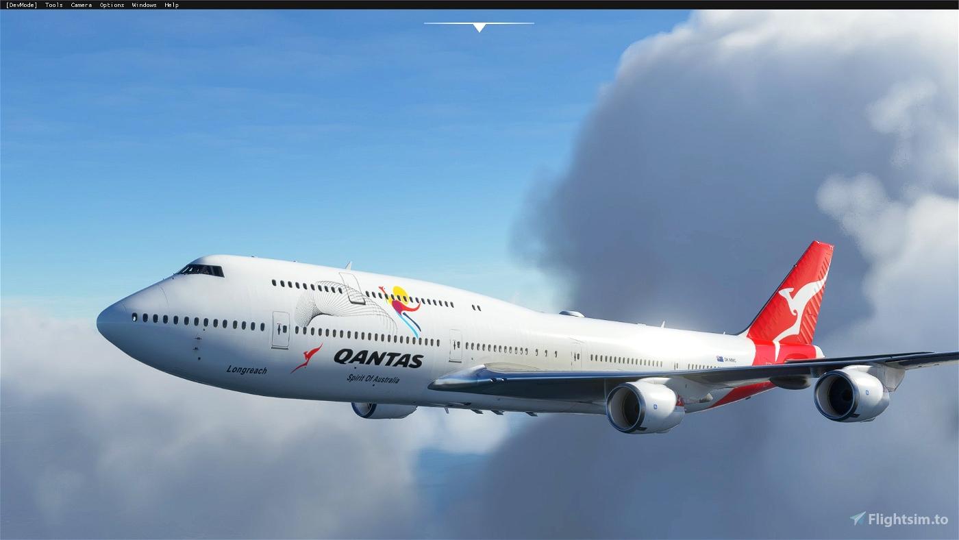 Boeing 747-8 Qantas