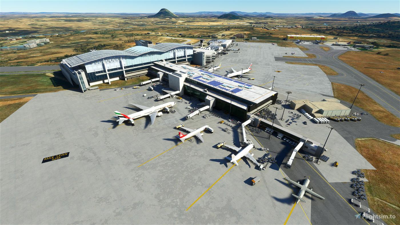 [DNAA] Nnambi Azikiwe Int. (Abuja) Microsoft Flight Simulator