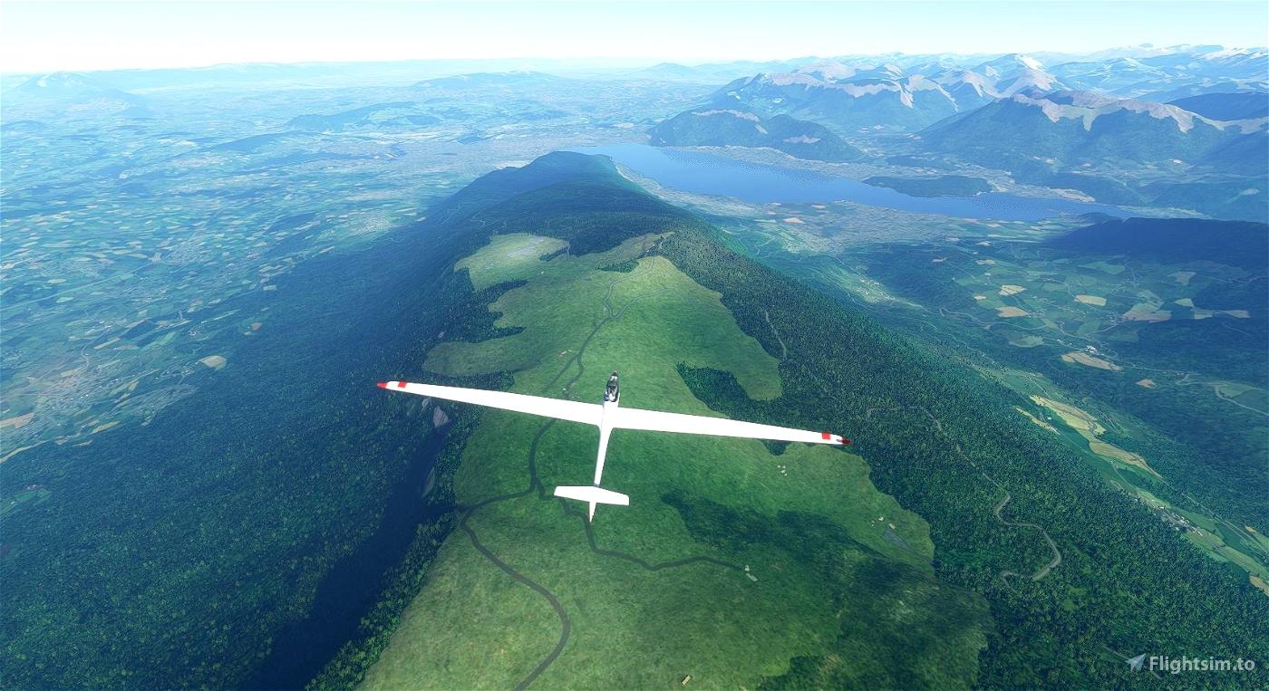 French Alps Soaring Task Flight Simulator 2020