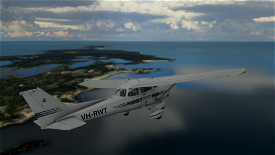 Cessna 172R (Classic SP) Royal Aero Club of Western Australia VH-RWT Image Flight Simulator 2020