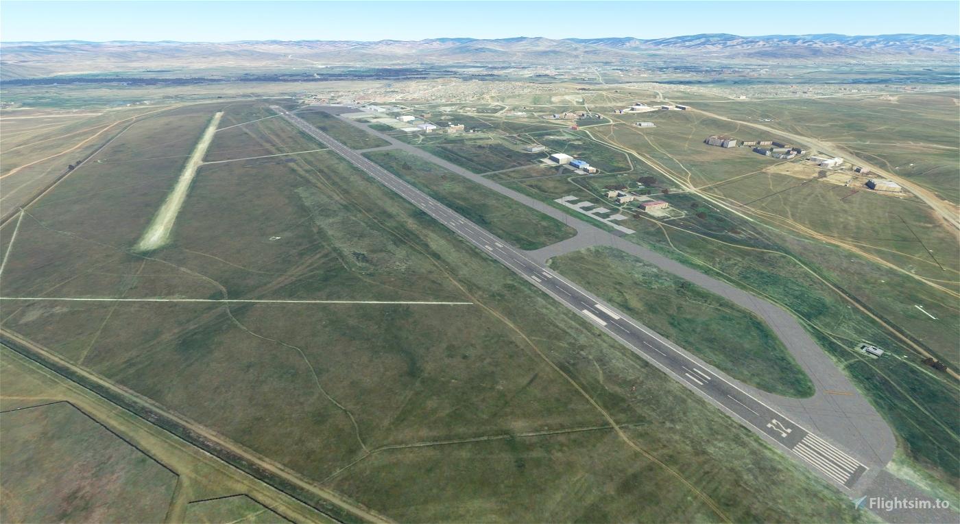 Ulaanbaatar ZMUB (Airport & Lights Enhancement) Flight Simulator 2020