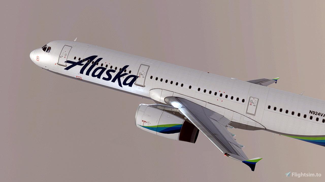 Alaska Airlines [4K] Flight Simulator 2020