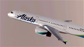 Alaska Airlines [4K] Image Flight Simulator 2020