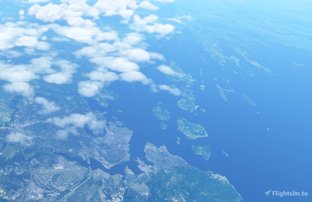 Islands of Casco Bay flight plan