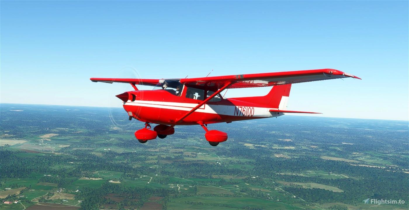 C172 G1000 -N76100 Flight Simulator 2020