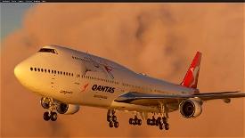 Boeing 747-8 Qantas Image Flight Simulator 2020