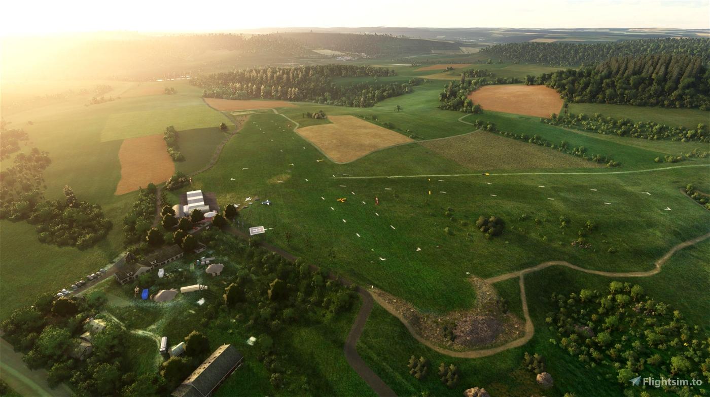Airfield Karlstadt-Saupurzel (EDKS)  Flight Simulator 2020