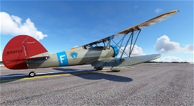 Waco YMF-5 N39721 Conch Republic Air Force Image Flight Simulator 2020