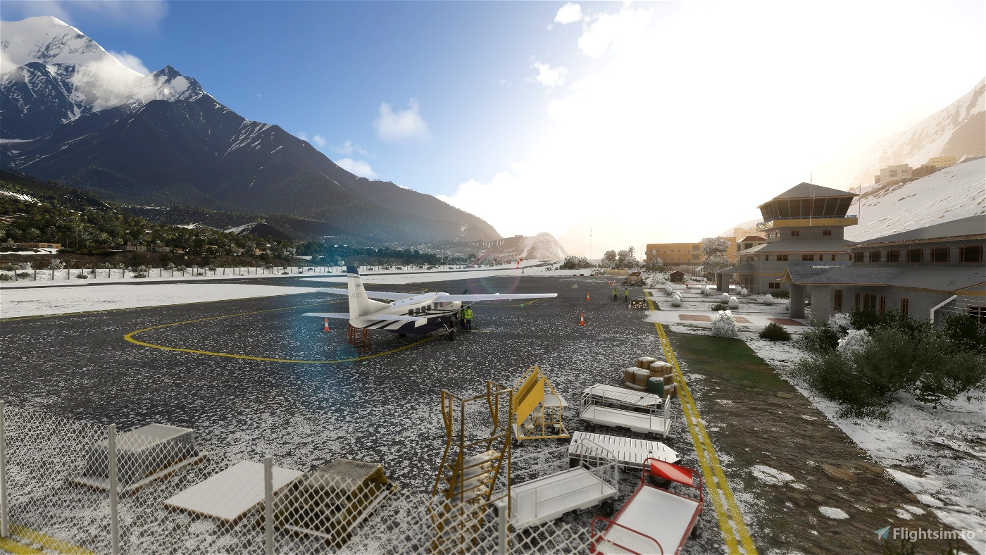 Jomsom Airport VNJS (Nepal) V1.4